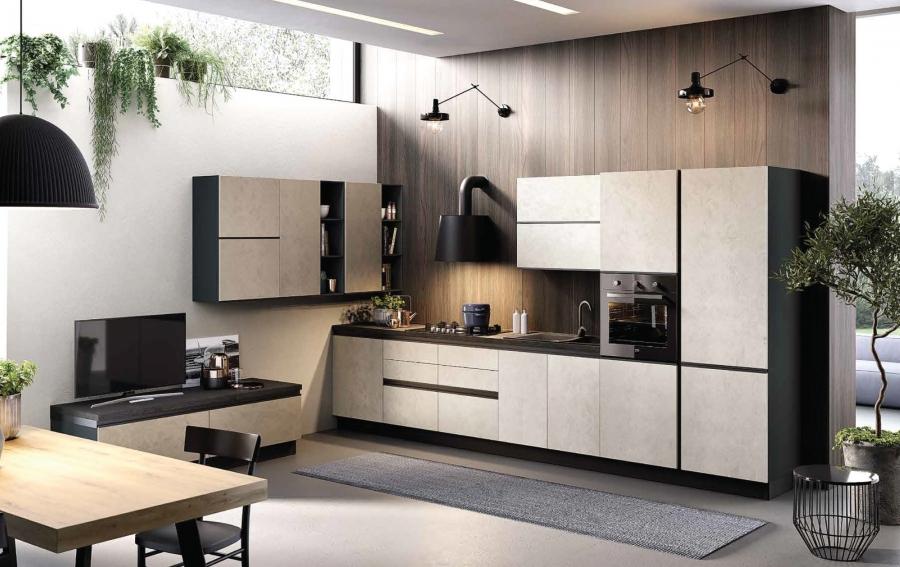 Cucine Componibili Modelli.Cucina Componibile Modello Zoe 01 Centrolegno Far Da Se E
